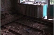 Ремонт полов в хрущевке с полной и частичной заменой напольного покрытия
