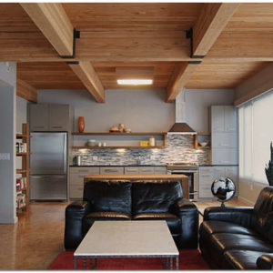 Деревянный потолок: экологично и респектабельно