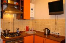 Дизайн кухни в хрущевке с газовой колонкой: варианты размещения газового аппарата