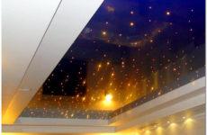 Натяжной потолок с подсветкой: неземное решение для земной жизни