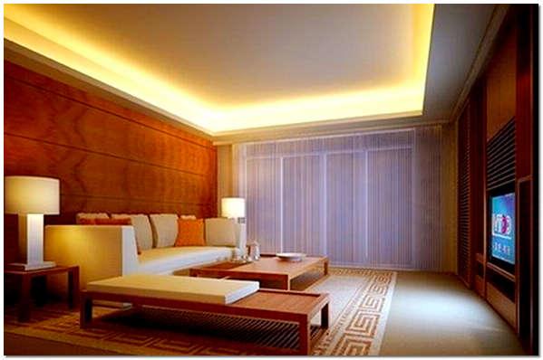 Светодиодная led подсветка потолка