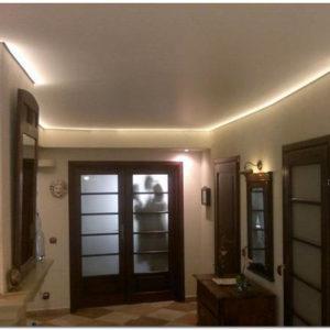 Тканевые натяжные бесшовные потолки: преимущества и недостатки
