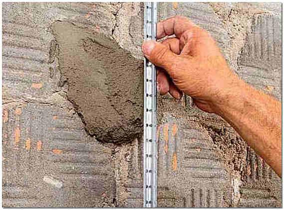 Штукатурка стен цементным раствором своими руками без маяков 39