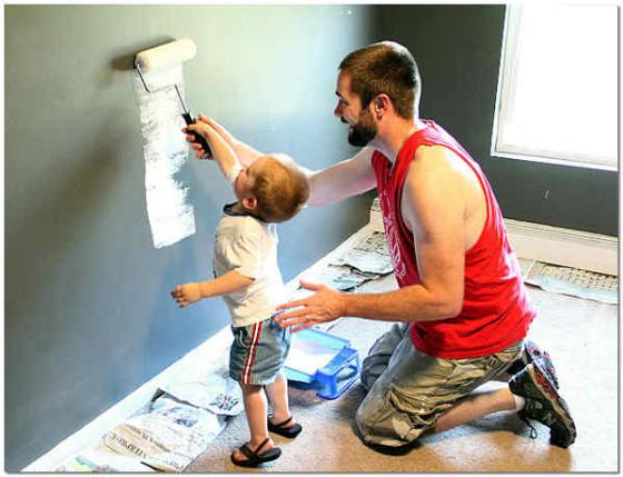 Обработка стен грунтовкой своими руками