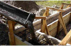 Как правильно залить фундамент под дом: заливка бетона зимой и летом