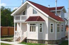 Наружная отделка фасада дачного дома: виды отделки