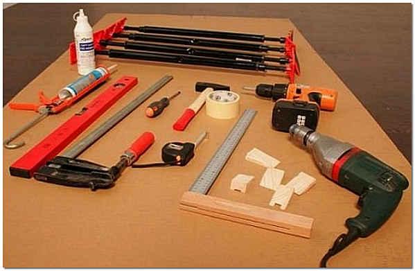 Необходимый для монтажа инструмент