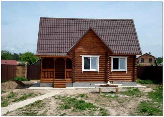 Частный дом в деревне