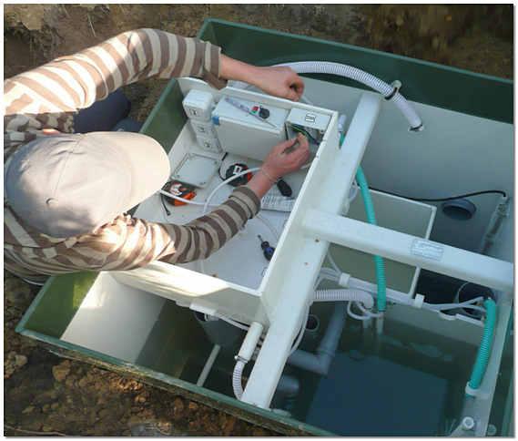 Обслуживание очистной станции Топас фото