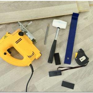 Набор для укладки ламината – необходимые инструменты