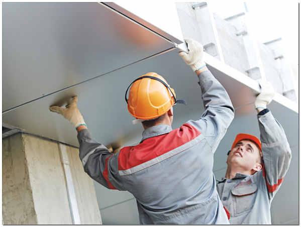 Монтаж алюминиевого фасада