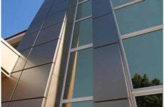 Навесные вентилируемые фасады из алюминия