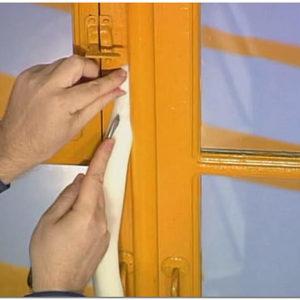 Чем заклеить окна на зиму чтобы не дуло из щелей