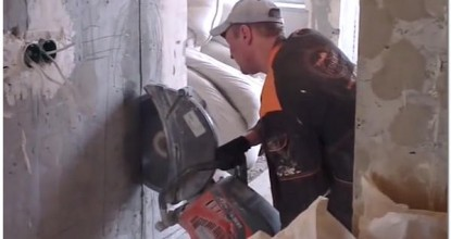Алмазная резка стен и расширение оконных и дверных проемов без пыли