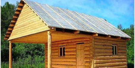 Крыша бани своими руками: как правильно сделать