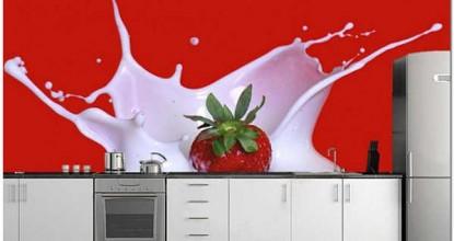 Как правильно выбрать фотообои, расширяющие пространство на кухне: идеи и рекомендации
