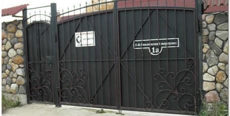 Как правильно выбрать ворота для дома и гаража: виды ворот для частного дома