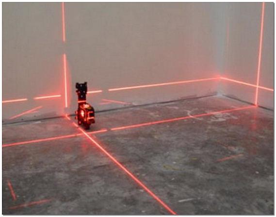 Лазерный нивелир для пола фото