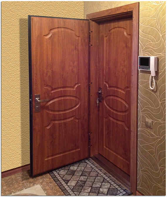 Входная дверь в квартиру с шумоизоляцией