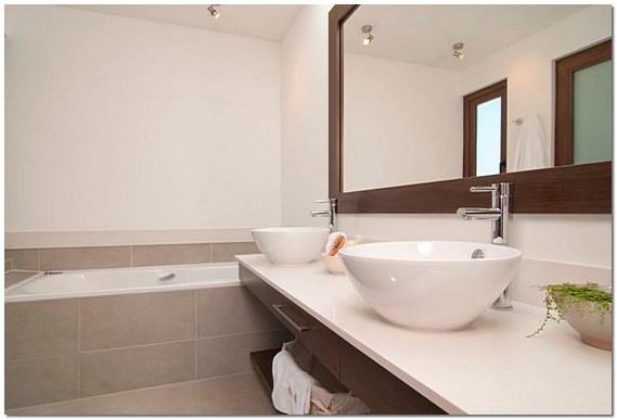 Ремонт современной ванной комнаты