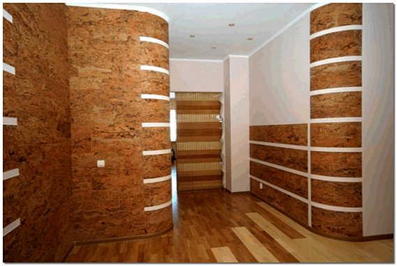 Экологически чистая отделка стен деревом фото