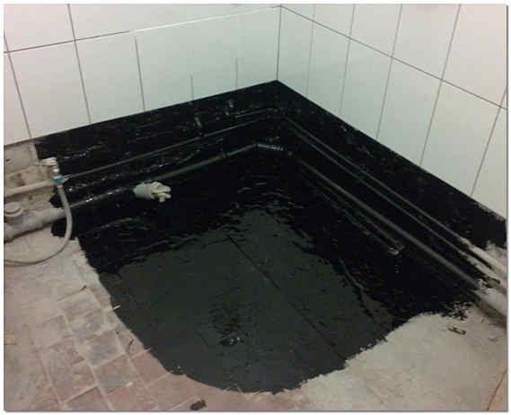 Гидроизоляция пола в ванной под плитку
