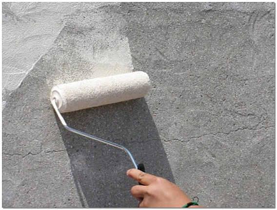 Грунтовка стены под укладку плитки