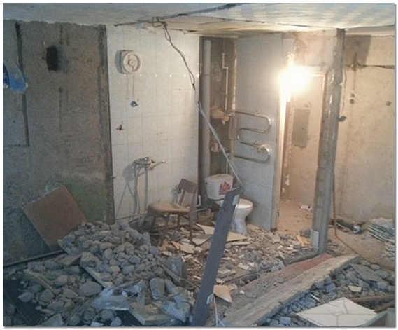 Начало перепланировки квартиры