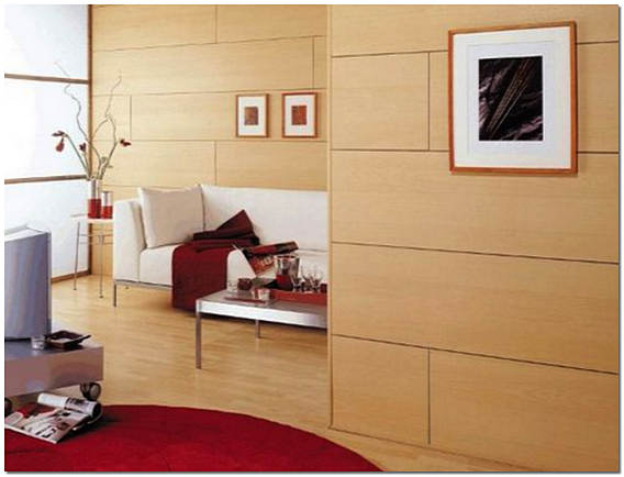 Облицовка стен панелями МДФ фото