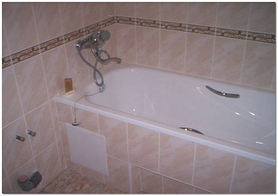 Ремонт в ванне своими руками
