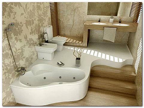 Фото ванной комнаты после ремонта в загородном доме