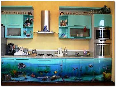 Обновленная кухня после ремонта