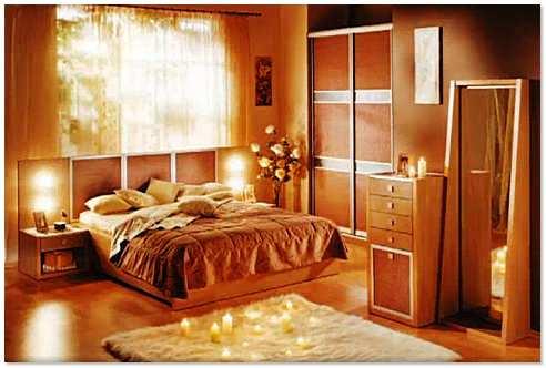 Красивая спальня своими руками