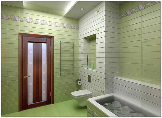 Двери в ванную комнату и туалет фото