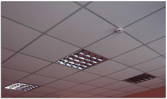 Подвесной потолок «Армстронг» фото
