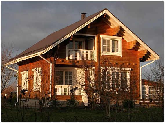 Недостатки домов из клееного бруса