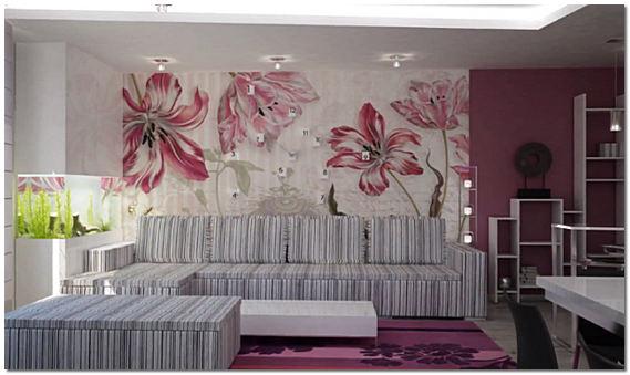Способы и варианты декорирования стен