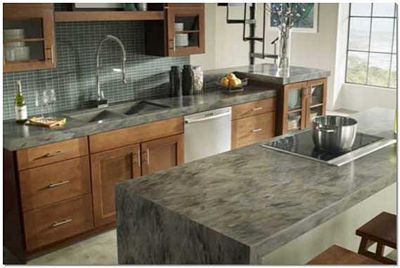Кухонная поверхность из искусственного камня
