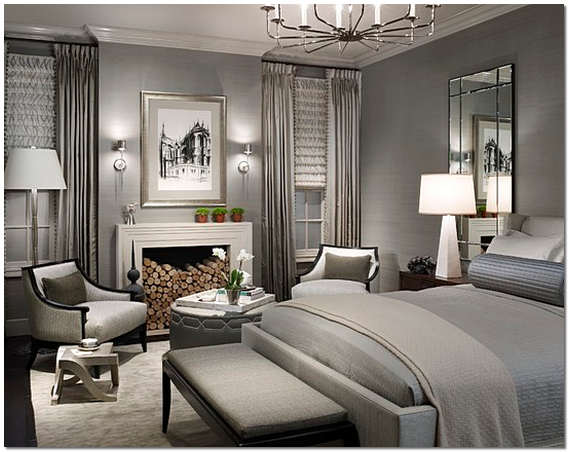 Спальная комната в американском стиле