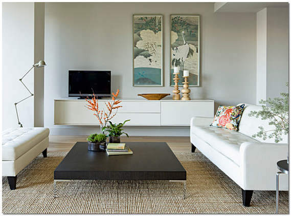 Картины в современном интерьере квартиры