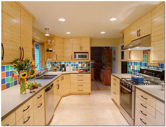 Кухня в стиле эклектика фото
