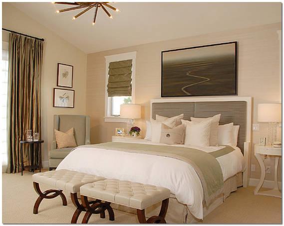 Оформление интерьера спальной комнаты в стиле эклектика