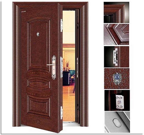 Установка железной входной двери