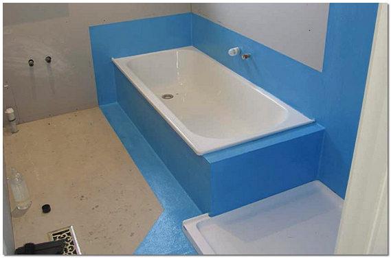 Гидроизоляция полов в ванной