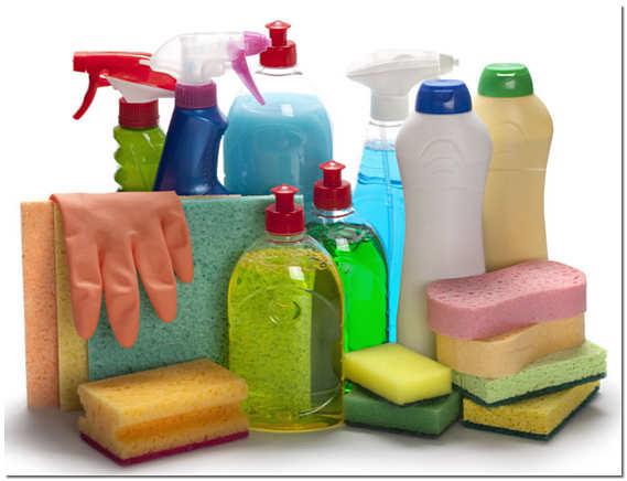 Средства для уборки после ремонта