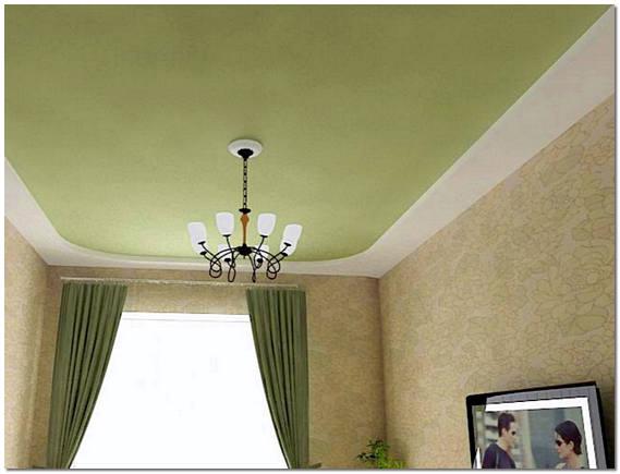 Бесшовные тканевые натяжные потолки в зале