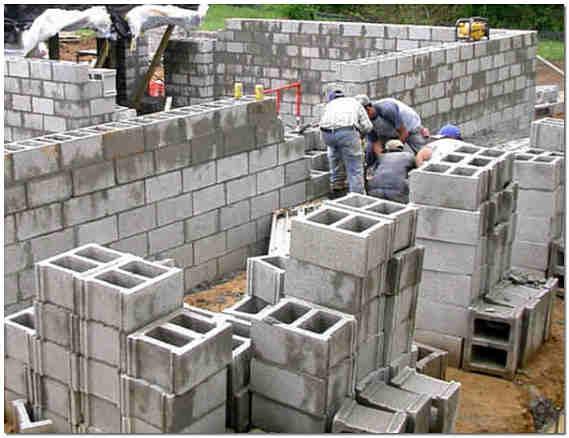 Стройка дома из шлакоблоков своими руками