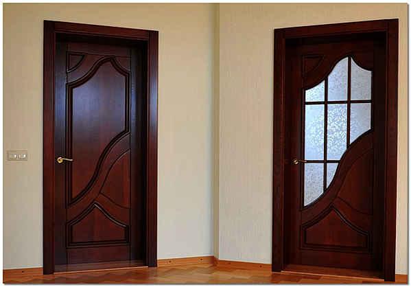Установленные самостоятельно межкомнатные двери