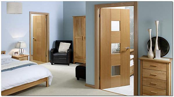 Двери из массива американского белого дуба фото
