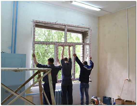 Установка пластиковых окон в кирпичном доме своими руками